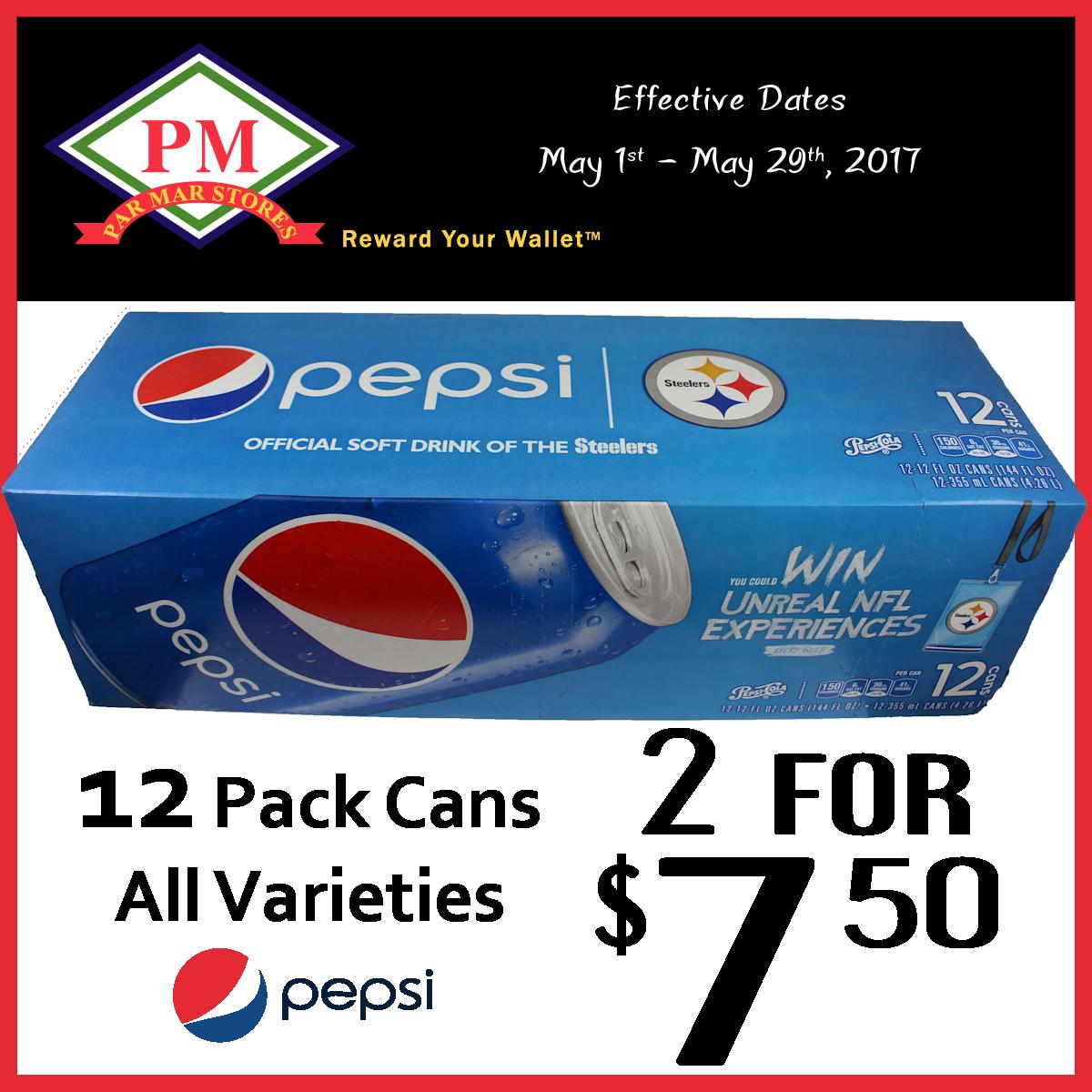 Pepsi 12 pack