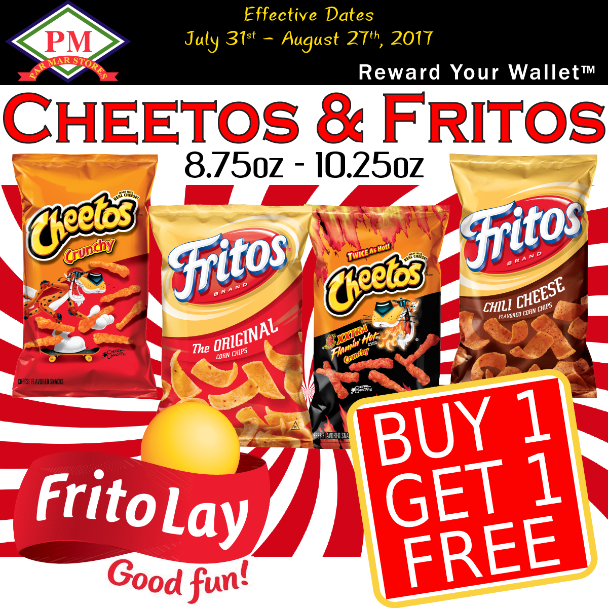 FritoLay exported