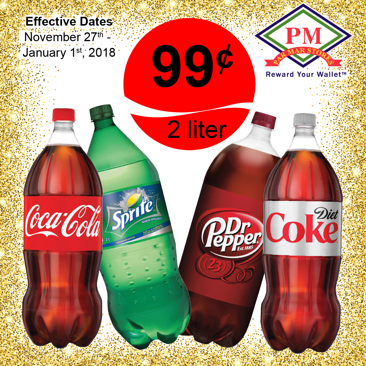 Coca Cola 2 Liter