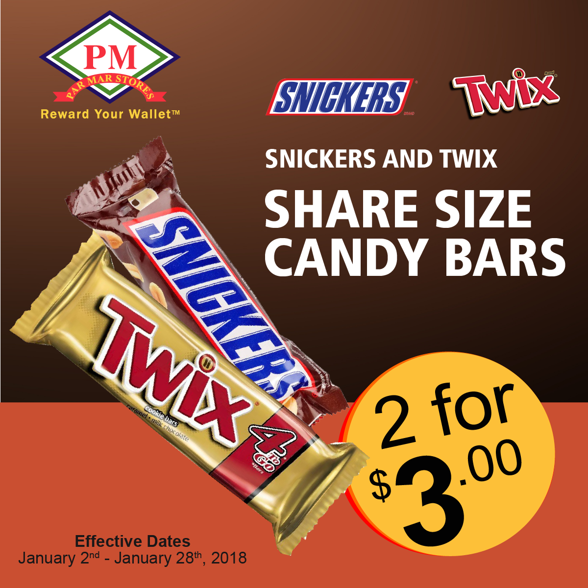 Snickers and Twix Promo