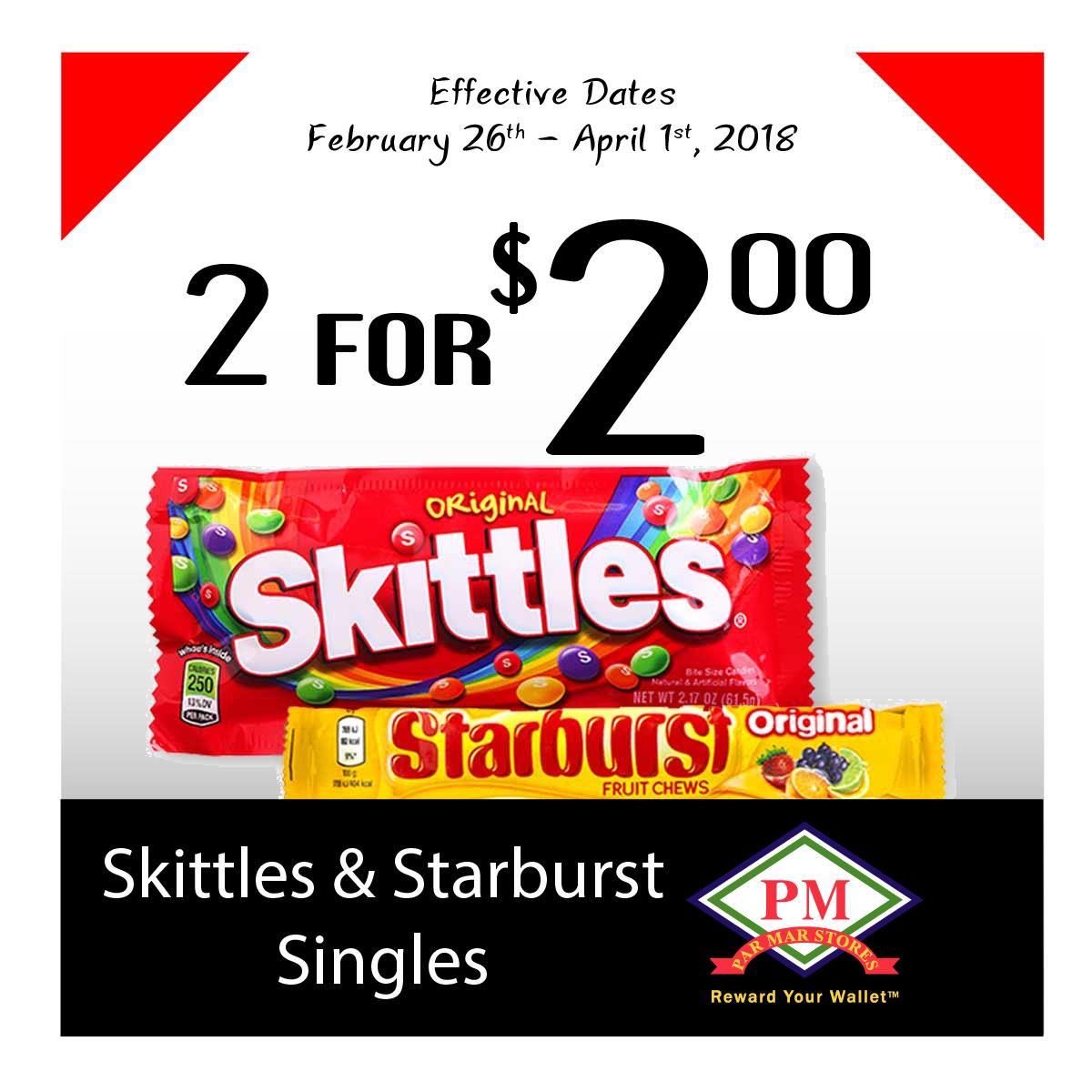 Skittles Starburst