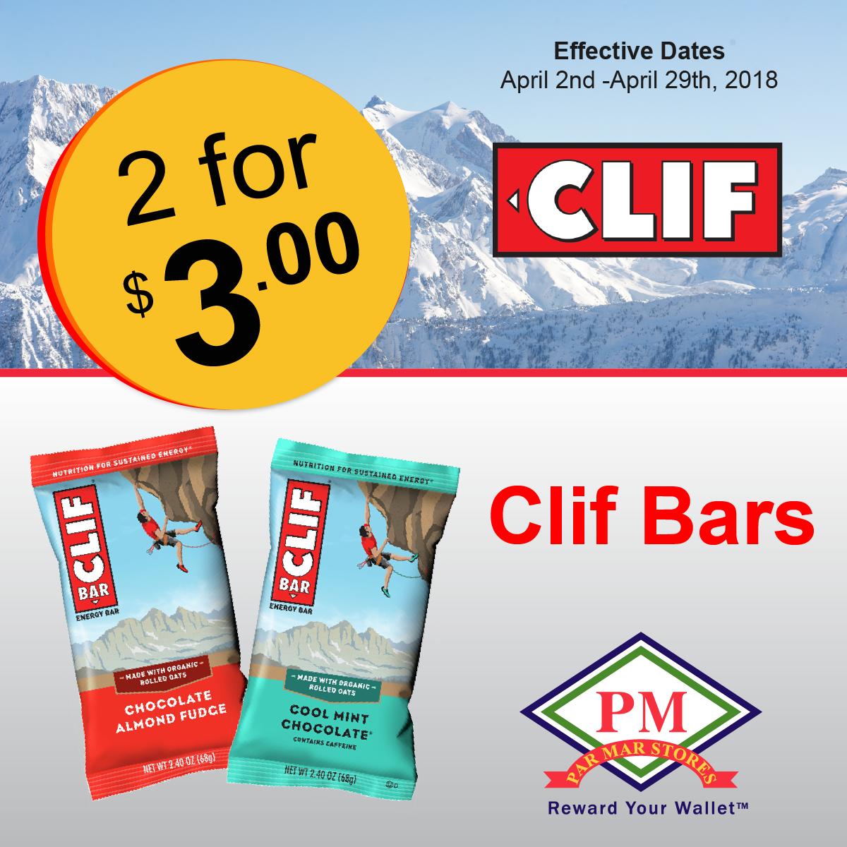 Cliff Bar Promo