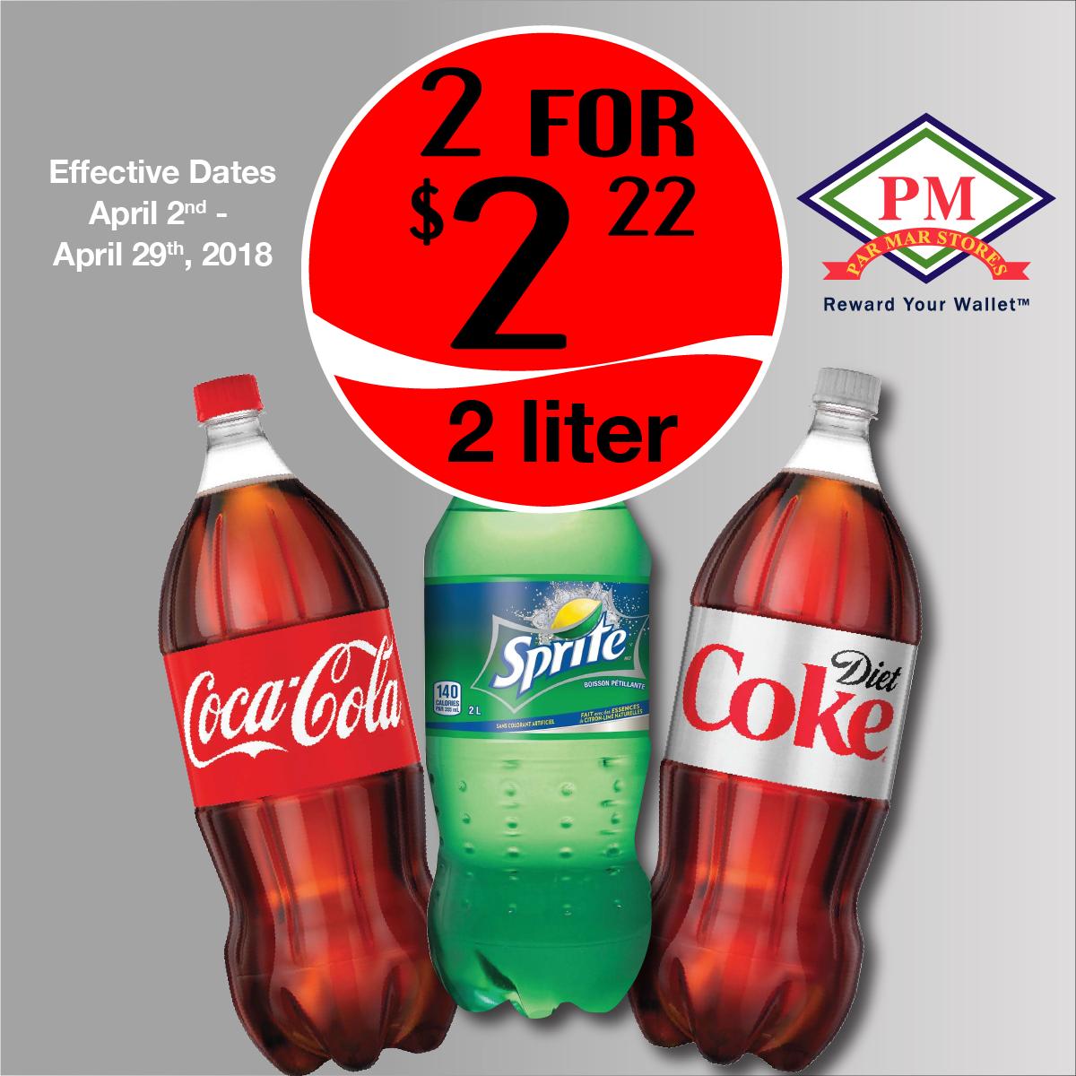 Coca Cola 2 Liter2