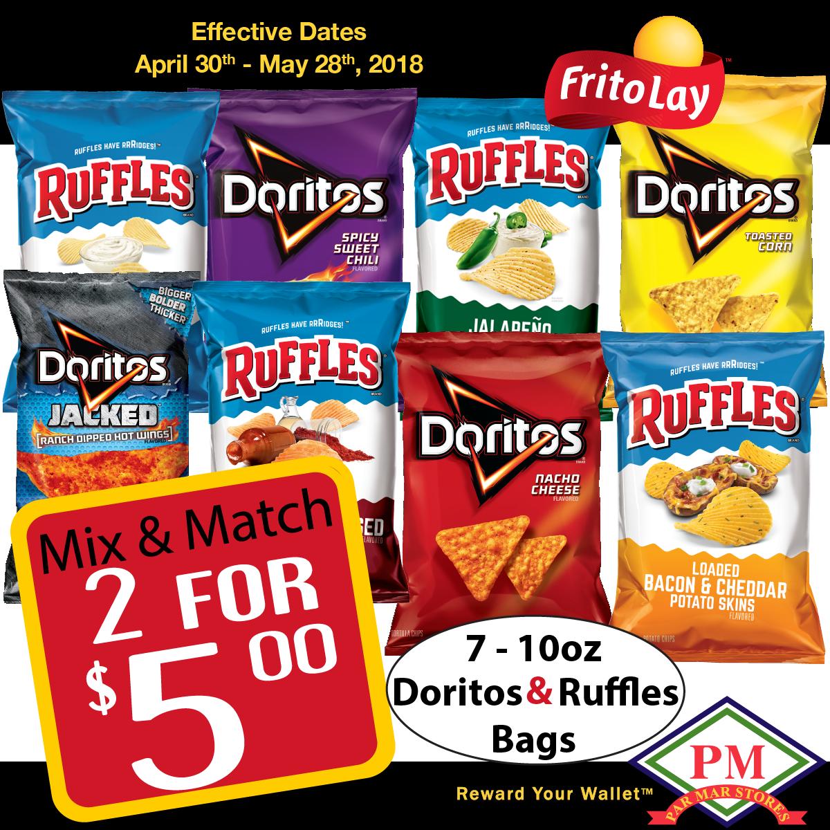 Dorito Ruffle_Doritos Promo