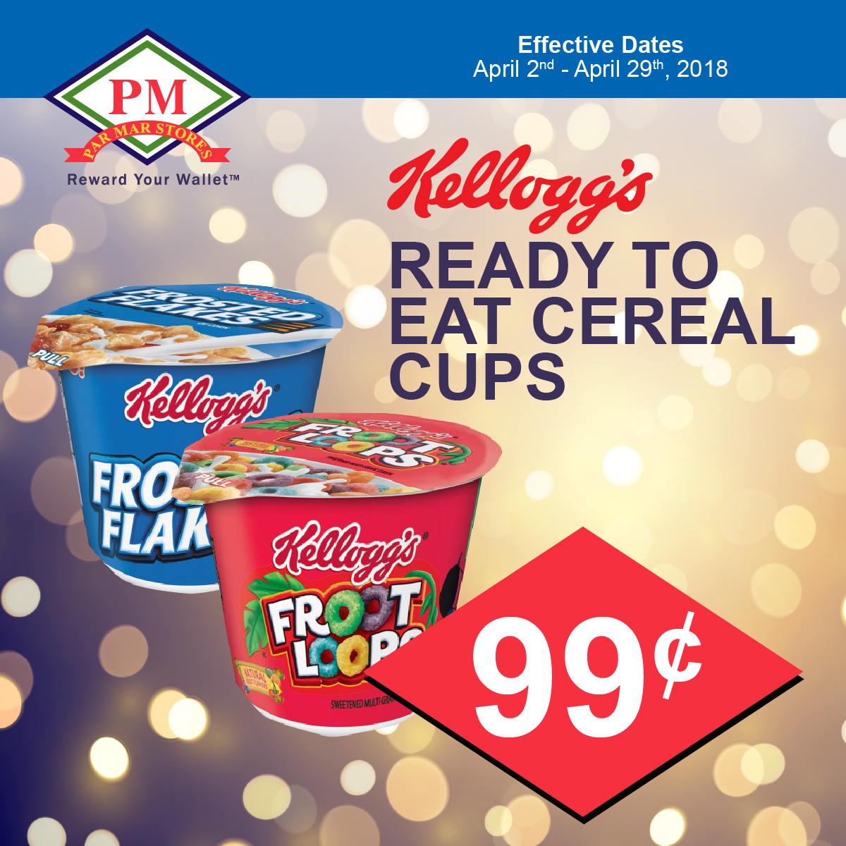 kellogs cereal cup