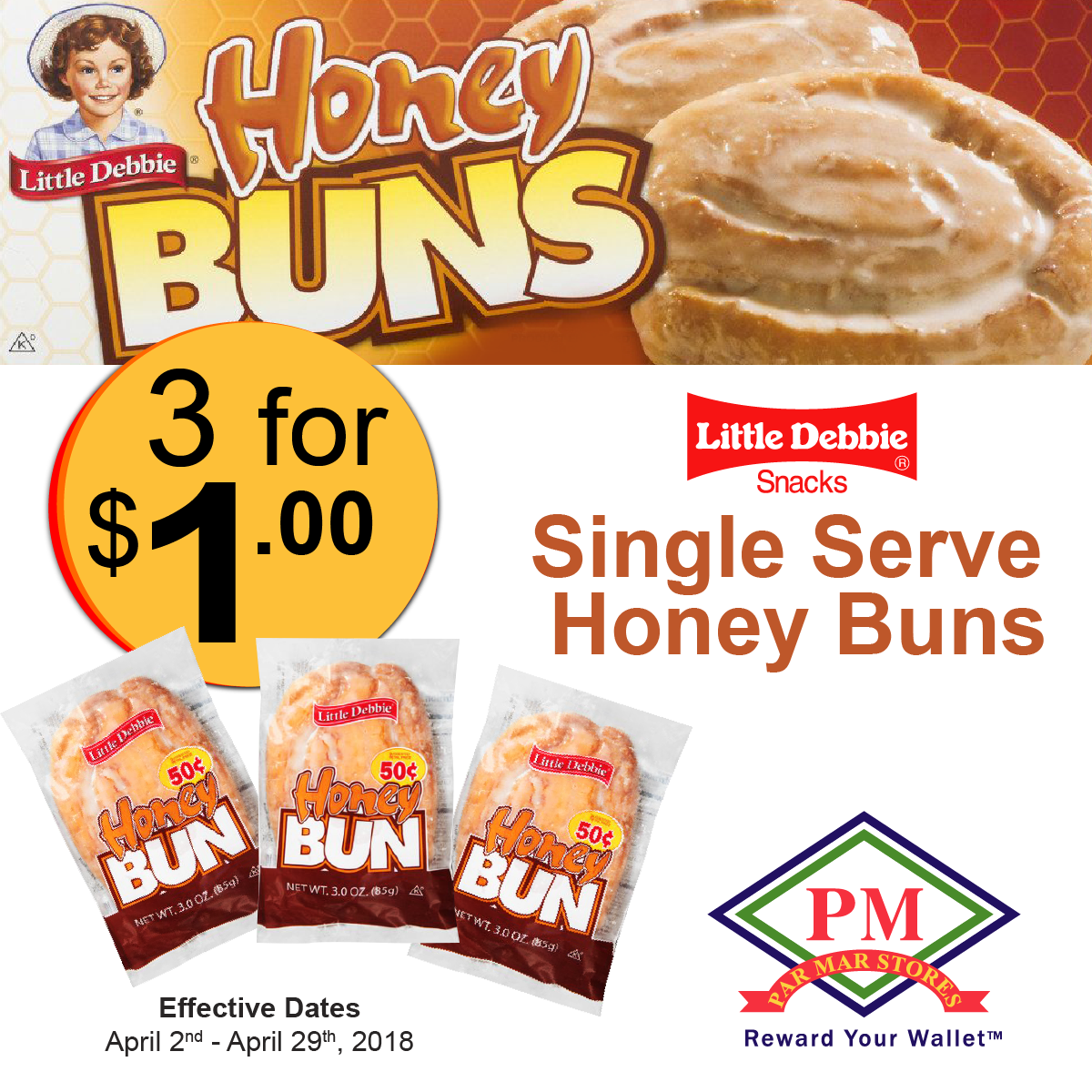 little debbie.honey buns cakes
