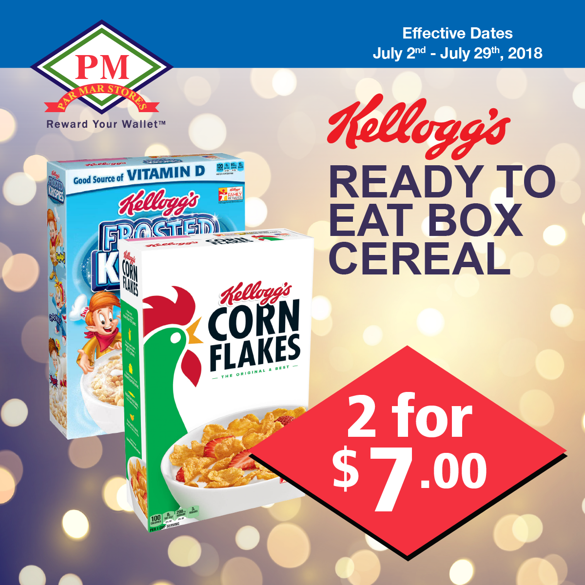 kellogs cereal box