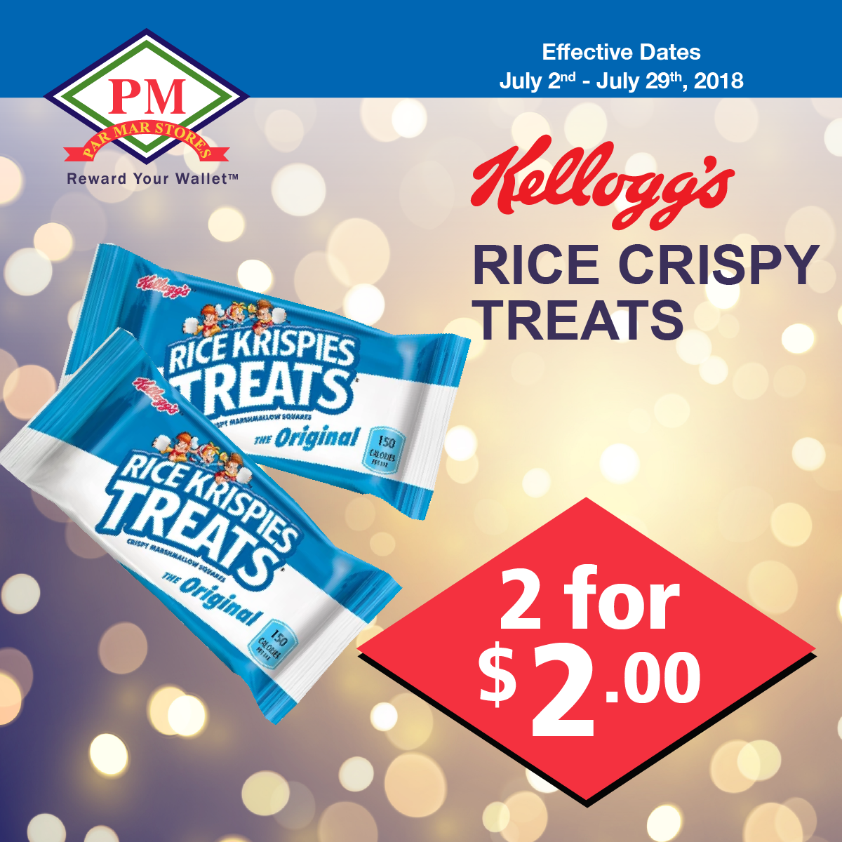kellogs rice crispy treats